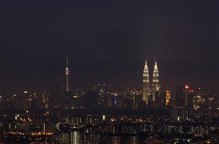 A view of the skyline of Malaysia's capital Kuala Lumpur in this September 21, 2010 file photo. REUTERS/Bazuki Muhammad/Files