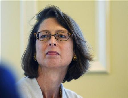 Abigail Johnson attends the Boston College Chief Executives' Club of Boston luncheon in Boston, Massachusetts November 29, 2011. REUTERS/Brian Snyder