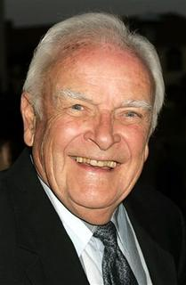 Veteran television and film actor John Ingle arrives as a guest for the opening of the play ''You Can't Take It With You'' in Los Angeles, in this April 20, 2005 file photo. REUTERS/Fred Prouser/Files