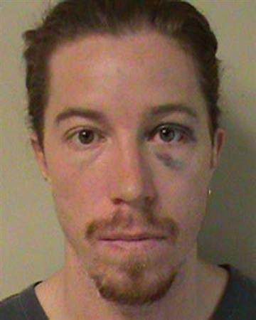 Two-time Olympic Gold medalist Shaun White, 26, is shown in this booking photo released by the Metro Nashville Police Department in Nashville, Tennessee September 17, 2012. REUTERS/Metro Nashville Police Dept/Handout