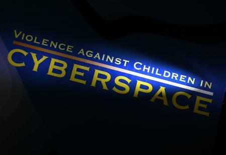 A booklet entitled, ''Violence Against Children in Cyberspace'', is pictured at an office of Keiji Goto, a police officer-turned lawyer in Tokyo August 10, 2012. ''The average citizen is against child pornography, but I feel they don't act strongly on those beliefs. Whenever they face strong opposition, they tend to back down easily,'' says Goto, who in 2005 left the police force's cybercrime unit and became a lawyer, who now works with crime victims. Picture taken August 10, 2012. To match Feature JAPAN-PORNOGRAPHY/ REUTERS/Yuriko Nakao