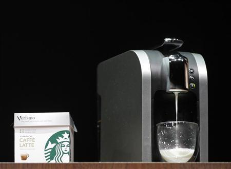 Starbucks to elbow in on Green Mountain with one-cup brewer Reuters