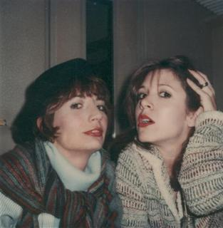 Legendary comedienne and director Penny Marshall (L) is shown in a family photograph with friend, actress and writer Carrie Fisher in this undated handout photograph provided to Reuters September 20, 2012. REUTERS/Courtesy Marshall Family Collection/Handout