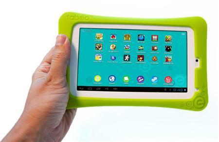 The Tabeo tablet in an image courtesy of Toys R Us. REUTERS/Handout