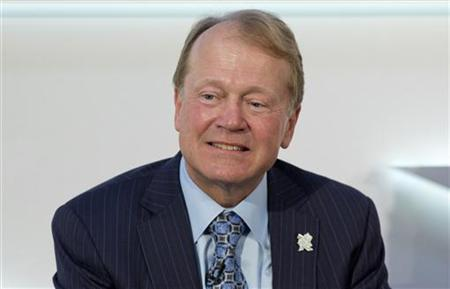 Chairman of the Board and CEO of Cisco John Chambers speaks at the Global Investment Conference 2012 in London July 26, 2012. REUTERS/Neil Hall