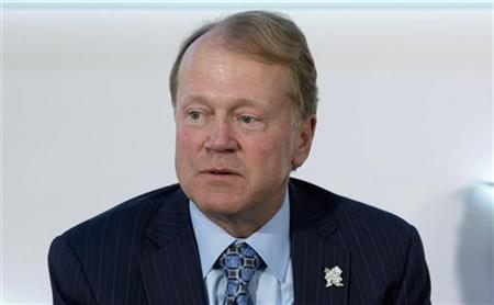 Chairman of the Board and CEO of Cisco John Chambers speaks at the Global Investment Conference in London July 26, 2012. REUTERS/Neil Hall
