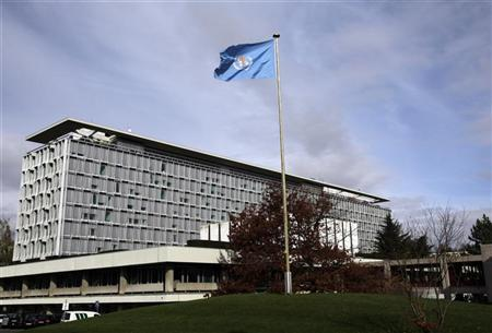 The World Health Organization (WHO) headquarters are pictured in Geneva November 9, 2009. REUTERS/Denis Balibouse