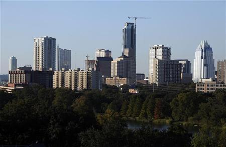 The skyline of downtown Austin, Texas, November 5, 2009. REUTERS/Lucy Nicholson