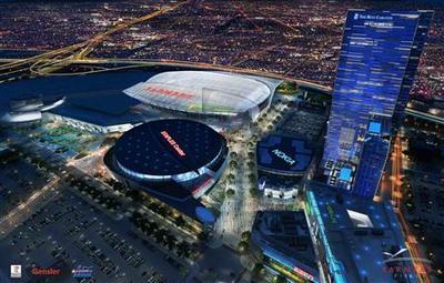 Los Angeles greenlights $1.2 billion football stadium
