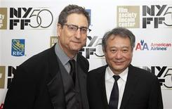 "Former head of 20th Century Fox Tom Rothman (L) and Director Lee Ang attend the opening night gala presentation of film ""Life Of Pi"" at the 50th New York Film Festival at Alice Tully Hall in New York September 28, 2012. REUTERS/Andrew Kelly"
