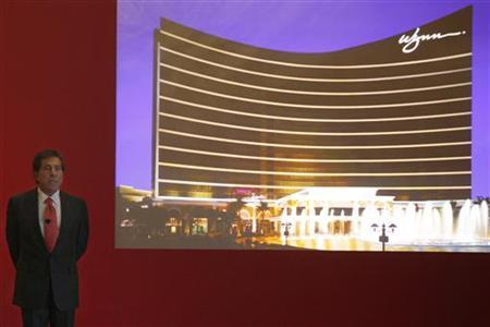 Wynn Macau Chairman and CEO Stephen Wynn speaks during a news conference in Hong Kong September 23, 2009. REUTERS/Tyrone Siu