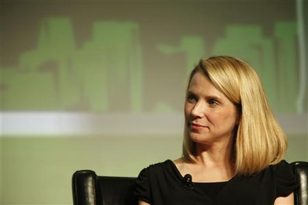 Yahoo! Chief Executive Marissa Mayer listens in a Startup Battlefield session during TechCrunch Disrupt SF 2012 at the San Francisco Design Center Concourse in San Francisco, California September 12, 2012. REUTERS/Stephen Lam