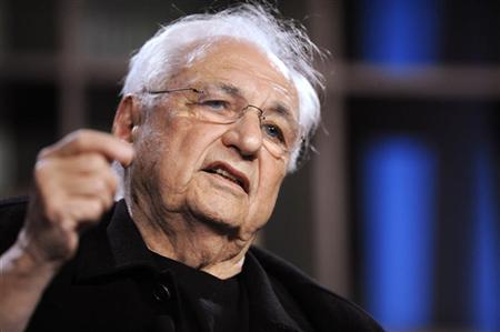 Frank Gehry, architect, Gehry Partners LLP, participates in the ''Sometimes a Great Notion: How Top Innovators Think'' panel at the 2010 Milken Institute Global Conference in Beverly Hills, California April 27, 2010. REUTERS/Phil McCarten