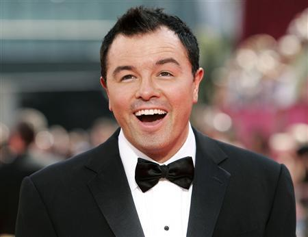 Seth MacFarlane, the creator of ''Family Guy'', arrives at the 61st annual Primetime Emmy Awards in Los Angeles, California in this September 20, 2009 file photo. The Academy of Motion Picture Arts and Sciences announced October 1, 2012 that MacFarlane will host the 85th Academy Awards, to be presented on February 24, 2013. REUTERS/Danny Moloshok/Files