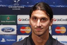 Ibrahimovic disse que Messi não merece levar a próxima Bola de Ouro da Fifa por não ter vencido nenhum título importante em 2012. 17/09/2012 REUTERS/Benoit Tessier