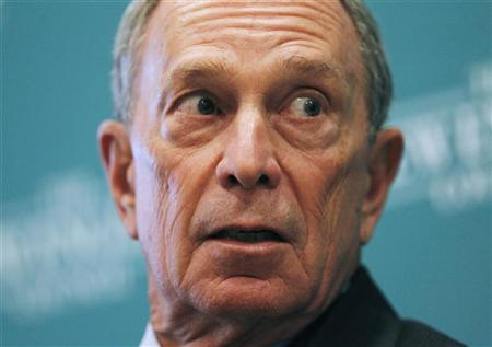 New York City Mayor Michael Bloomberg listens to a question at the ''The Economics and Politics of Immigration'' Forum in Boston, Massachusetts August 14, 2012. REUTERS/Jessica Rinaldi