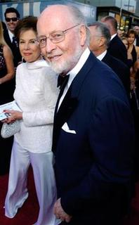 Composer John Williams arrives for ''The 33rd American Film Institute Life Achievement Award: A Tribute to George Lucas'' at the Kodak Theater in Los Angeles June 9, 2005. REUTERS/Chris Pizzello