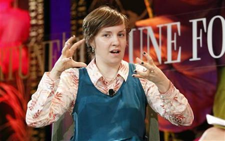 Lena Dunham, filmmaker, actress and director, speaks during a one-on-one session at Fortune's Most Powerful Women Summit in Laguna Niguel, California October 2, 2012. REUTERS/Alex Gallardo