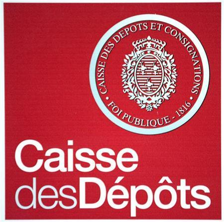 Logo of State-controlled bank Caisse des Depots (CDC) presents the company's 2008 annual results in Paris April 16, 2009. REUTERS/Charles Platiau