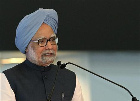 Prime Minister Manmohan Singh speaks in New Delhi July 3, 2010. REUTERS/B Mathur/Files