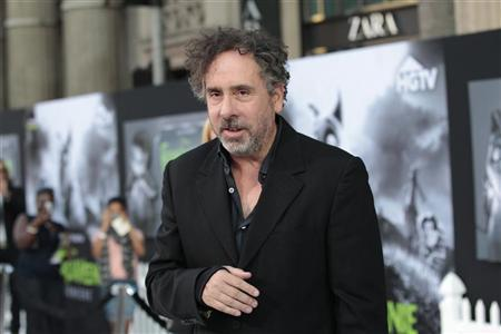 Director and producer Tim Burton poses at the premiere of ''Frankenweenie'' at El Capitan theatre in Hollywood, California September 24, 2012. The movie opens in the U.S. on October 5. REUTERS/Mario Anzuoni
