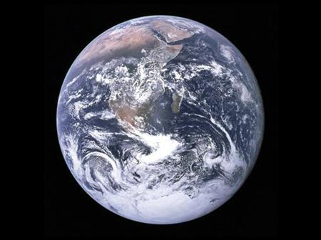 NASA undated handout image shows an image of the earth taken from space. REUTERS/NASA/JHandout
