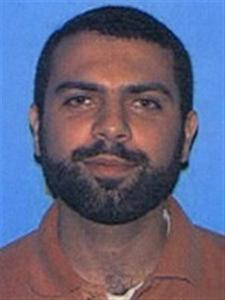 Ahmad Abousamra, 31, a dual U.S./Syrian citizen from Mansfield, Massachusetts, is seen in this FBI handout photo taken in 2004. Abousamra is wanted on charges of seeking military training abroad with the aim of killing U.S. soldiers. The FBI announced October 3, 2012 they were offering a $50,000 reward for information leading to the arrest of Abousamra, who left the United States in 2006 and is thought to be living in Syria. REUTERS/FBI/Handout