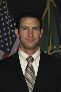 U.S. Border Patrol agent Nicholas Ivie, 30, is shown in this U.S. Customs and Border Protection photograph released to Reuters on October 2, 2012. Ivie was shot dead and another wounded when they came under fire early on Tuesday while responding to a tripped ground sensor in a drug smuggling corridor in Arizona, near the border with Mexico, authorities said. REUTERS/U.S. Department of Homeland Security/Handout