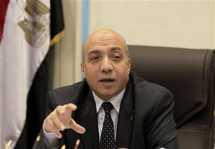Nomani Nasr Nomani, vice chairman of the General Authority for Supply Commodities (GASC), speaks during an interview in Cairo September 30, 2012. REUTERS/Mohamed Abd El Ghany