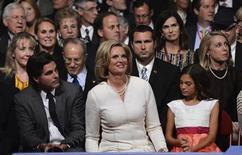 Ann Romney smiles at the start of the first 2012 U.S. presidential debate in Denver October 3, 2012. REUTERS/Michael Reynolds/Pool