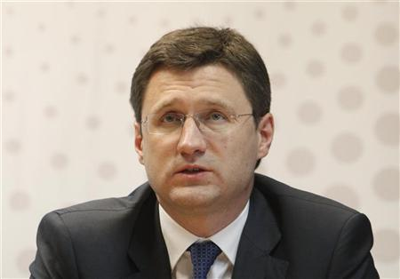 Russian Energy Minister Alexander Novak answers journalists' questions during the Reuters Russia Investment Summit in Moscow September 27, 2012. REUTERS/Alexey Petrov