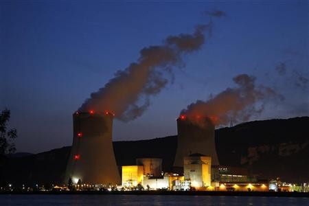 A general view of the Cruas nuclear power plant, southern France April 19, 2011. REUTERS/Benoit Tessier