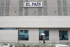 Vista geral do jornal espanhol El País em Madri. 29/11/2010 REUTERS/Juan Medina