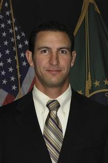 U.S. Border Patrol agent Nicholas Ivie, 30, is shown in this U.S. Customs and Border Protection photograph released to Reuters on October 2, 2012. REUTERS/U.S. Department of Homeland Security/Handout