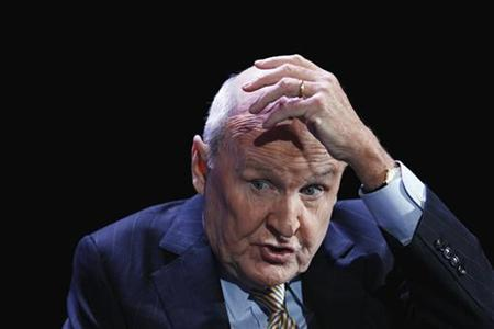 Former CEO of General Electric, Jack Welch, speaks during the World Business Forum in New York October 5, 2010. REUTERS/Lucas Jackson