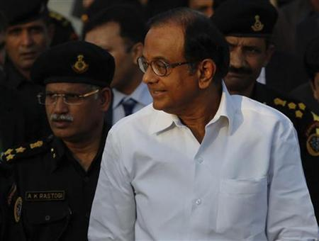 Palaniappan Chidambaram attends the inauguration ceremony of the National Security Guard (NSG) regional hub in Mumbai February 23, 2012. REUTERS/Danish Siddiqui/Files