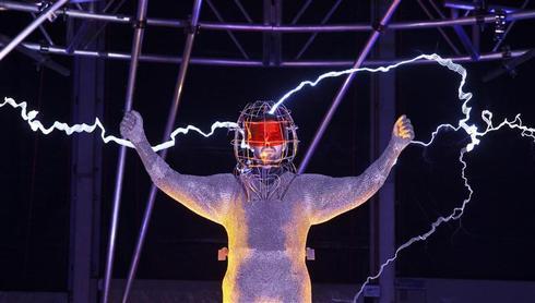 David Blaine's electrical stunt
