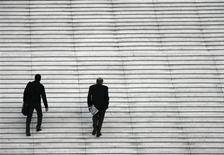 <p>Le nombre de défaillances d'entreprises a progressé de 3,7% au troisième trimestre en France par rapport à la même période de 2011, pour atteindre 11.706. /Photo d'archives/REUTERS/John Schults</p>