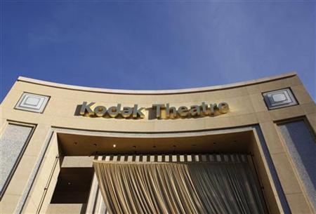 Signage for the theatre in the Hollywood & Highland shopping complex, site of the 84th annual Academy Awards, shows ''Kodak Theatre'' in Hollywood February 22, 2012 REUTERS/Danny Moloshok