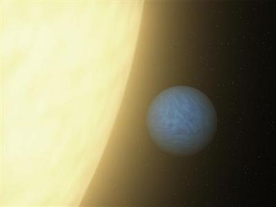 The planet 55 Cancri e in an undated artist's conception. Astronomers have discovered a planet twice the size of Earth made largely out of diamond which is orbiting a star that is visible with the naked eye. REUTERS-NASA