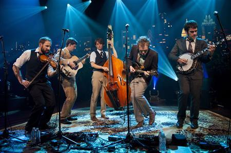 The Punch Brothers perform on Season 38 of Austin City Limits in this handout photo taken in Austin, Texas May 1, 2012. REUTERS/Photo courtesy KLRU-TV/Austin City Limits/Scott Newton/Handout