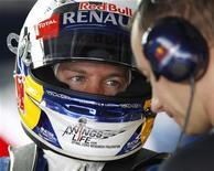 Vettel liderou treino para o GP de Fórmula 1 da Coreia do Sul; Webber chegou em segundo e Alonso em terceiro. 12/10/2012. REUTERS/Lee Jae-Won
