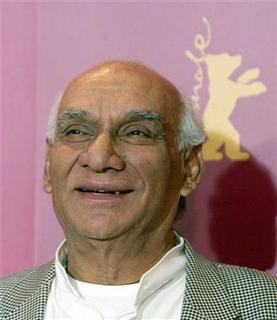Producer and director Yash Chopra attends an international jury photocall for the 56th Berlinale International Film Festival in Berlin February 9, 2006. REUTERS/Tobias Schwarz/Files