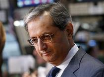 Citigroup's CEO Vikram Pandit gives an interview on the floor of the New York Stock Exchange in this June 18, 2012 file photograph. REUTERS/Brendan McDermid/Files
