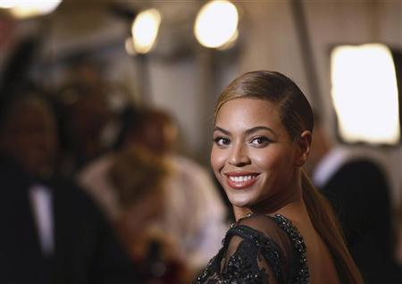 Singer Beyonce Knowles arrives at the Metropolitan Museum of Art Costume Institute Benefit celebrating the opening of ''Schiaparelli and Prada: Impossible Conversations'' exhibition in New York, May 7, 2012. REUTERS/Lucas Jackson