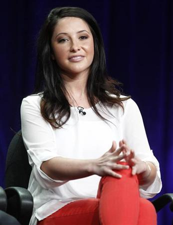 Bristol Palin, cast member from the reality series ''Dancing with the Stars: All Stars'', speaks during a panel discussion at the Disney-ABC Television Group portion of the Television Critics Association Summer press tour in Beverly Hills, California July 27, 2012. REUTERS/Fred Prouser