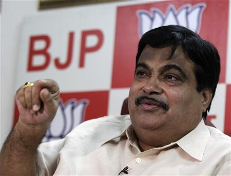 Nitin Gadkari is seen in New Delhi April 9, 2010. REUTERS/Adnan Abidi/Files