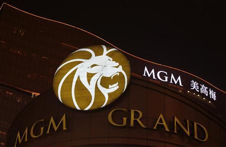 MGM Grand resort in Macau is seen in the evening of May 15, 2011. REUTERS/Bobby Yip
