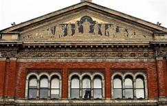A view of one of the facades of the Victoria and Albert (V&A) Museum in London February 19, 2007. REUTERS/Alessia Pierdomenico