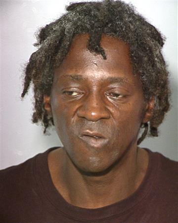 William Drayton, also know as entertainer Flavor Flav is shown in this booking photograph released by the Las Vegas Metropolitan Police Department October 17, 2012. REUTERS/Las Vegas Metropolitan Police Department/Handout